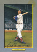 Autographs:Post Cards, Ted Williams Signed Perez Steele Great Moments Postcard....