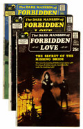 Bronze Age (1970-1979):Horror, Dark Mansion of Forbidden Love #1-4 Group (DC, 1971-72) Condition:Average FN+.... (Total: 4 Comic Books)