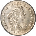 Early Dimes, 1805 10C 4 Berries MS66 PCGS....