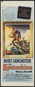 "Movie Posters:Western, The Kentuckian (United Artists, 1955). Insert (14"" X 36""). Western.. ..."