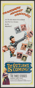 """Movie Posters:Comedy, The Outlaws is Coming (Columbia, 1965). Insert (14"""" X 36""""). Comedy.. ..."""