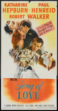 """Movie Posters:Romance, Song of Love (MGM, 1947). Three Sheet (41"""" X 81""""). Romance.. ..."""