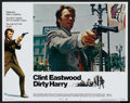 """Movie Posters:Crime, Dirty Harry (Warner Brothers, 1971). Lobby Card Set of 8 (11"""" X14""""). Crime.. ... (Total: 8 Items)"""