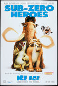 "Movie Posters:Animated, Ice Age (20th Century Fox, 2002). Banner (48"" X 72""). Animated....."