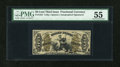 Fractional Currency:Third Issue, Fr. 1355 50¢ Third Issue Justice PMG About Uncirculated 55....