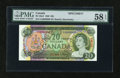 Canadian Currency: , BC-50aS $20 1969. ...