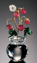 "Lapidary Art:Carvings, GEMSTONE CARVING: ""WOOD STRAWBERRIES"". ..."
