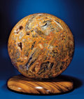 Lapidary Art:Spheres, CRAZY LACE AGATE SPHERE. ...