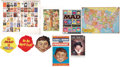 Memorabilia:MAD, Mad Poster and Large Item Group (EC, 1981-96).... (Total: 9 Items)