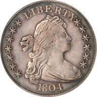Featured item image of 1804 $1 Class III PR58 PCGS....