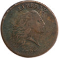 Large Cents, 1793 Chain 1C Periods VF25 PCGS....