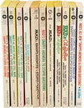 Memorabilia:MAD, Mad Al Jaffee Snappy Answers Paperback Group of 11 (Various,1968-89).... (Total: 11 Items)