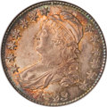 Bust Half Dollars, 1823 50C Patched 3 MS66 NGC....
