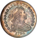 Early Quarters, 1796 25C MS64 PCGS....