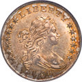 Early Dollars, 1799/8 $1 15 Stars Reverse AU58 PCGS. CAC....
