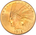 Indian Eagles, 1915 $10 MS66 PCGS. CAC....