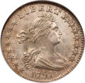 Early Half Dimes, 1797 H10C 15 Stars MS63 NGC....
