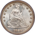 Seated Quarters, 1889 25C MS68 PCGS....