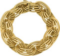Estate Jewelry:Bracelets, Gold Bracelet, Van Cleef & Arpels, French. ...