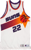 Basketball Collectibles:Uniforms, 1993-94 Danny Ainge Phoenix Suns Game Worn Jersey. ...