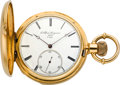 Timepieces:Pocket (pre 1900) , J. Alfred Jurgensen Gold Detent Chronometer Pocket Watch, circa 1880. ...