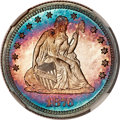Proof Seated Quarters, 1876 25C PR66 ★ Cameo NGC....