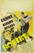 "Movie Posters:Musical, Roberta (RKO, 1935). Window Card (14"" X 22""). ..."