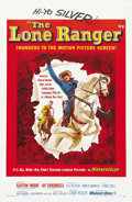 "Movie Posters:Western, The Lone Ranger (Warner Brothers, 1956). One Sheet (27"" X 41""). ..."