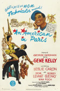 "Movie Posters:Academy Award Winner, An American in Paris (MGM, 1951). One Sheet (27"" X 41""). ..."
