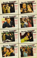 "Movie Posters:Mystery, Bulldog Drummond's Peril (Paramount, 1938). Lobby Card Set of 8(11"" X 14""). ... (Total: 8 Items)"