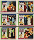 "Movie Posters:Romance, Breakfast at Tiffany's (Paramount, 1961). Lobby Cards (6) (11"" X14""). ... (Total: 6 Items)"