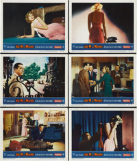 """Dial M for Murder (Warner Brothers, 1954). Lobby Cards (6) (11"""" X 14""""). ... (Total: 6 Items)"""