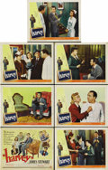 "Movie Posters:Comedy, Harvey (Universal International, 1950). Title Lobby Card (11"" X14"") and Lobby Cards (6) (11"" X 14""). ... (Total: 7 Items)"