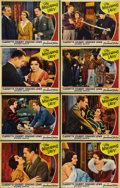 "Movie Posters:Comedy, The Misleading Lady (Paramount, 1932). Lobby Card Set of 8 (11"" X14""). ... (Total: 8 Items)"