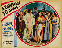 "A Farewell To Arms (Paramount, 1932). Lobby Card (11"" X 14"")"