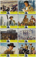 """Movie Posters:Western, The Alamo (United Artists, R-1967). Lobby Card Set of 8 (11"""" X 14""""). ... (Total: 8 Items)"""