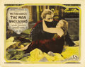 "Movie Posters:Horror, The Man Who Laughs (Universal, 1928). Half Sheet (22"" X 28"")...."