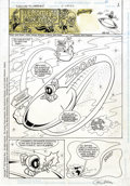 "Original Comic Art:Complete Story, George Wildman - Looney Tunes, Complete 18-page Story ""Welcome toLooneyland"" Original Art (Warner Bros., 1993).... (Total: 18 Items)"