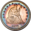 Proof Seated Quarters, 1877 25C PR67 NGC....