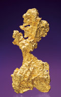 Minerals:Golds, UNUSUAL GOLD NUGGET. ...