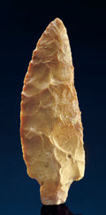 Paleolithic Artifacts:Arrowheads & Paleo Points, LITTLE BEAR CREEK POINT. ...