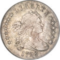 Early Dollars, 1799/8 $1 15 Stars Reverse XF45 PCGS. CAC....