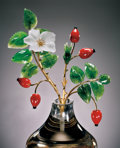 "Lapidary Art:Carvings, GEMSTONE CARVING: ""WILD ROSES"". ..."