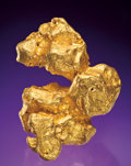 Minerals:Golds, FINE GOLD NUGGET. ...