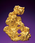 Minerals:Golds, NATIVE GOLD NUGGET. ...
