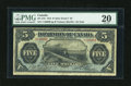 Canadian Currency: , DC-21b $5 1912 Fine.. ...