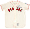 Autographs:Jerseys, Ted Williams Signed Red Sox Replica Jersey....