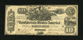 Confederate Notes:1861 Issues, T29 $10 1861 PF-1 Cr. 237. ...