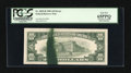 Error Notes:Ink Smears, Fr. 2025-B $10 1981 Federal Reserve Note. PCGS Gem New 65PPQ.. ...