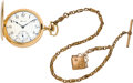 Timepieces:Pocket (post 1900), E. Howard Watch Co. 23 Jewel Gold Hunters Case, circa 1908. ...